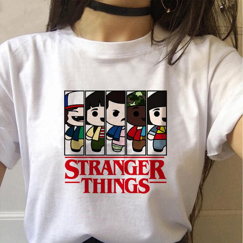 Tee Shirt Stranger Things Mignon - XXL