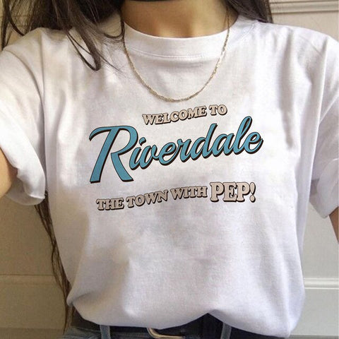 T-Shirt Riverdale Welcome to Riverdale - XL
