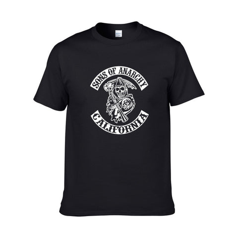 Tee Shirt Sons of Anarchy Noir - Black / XS / Sons of Anarchy