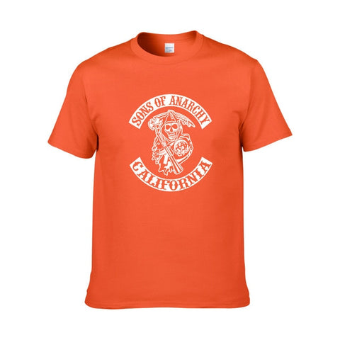 Tee Shirt Sons of Anarchy Orange - orange 1 / XS / Sons of Anarchy