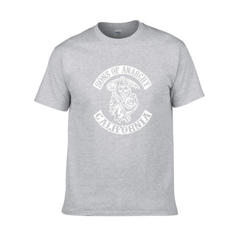 Tee Shirt Sons of Anarchy Gris - gray 1 / XS / Sons of Anarchy