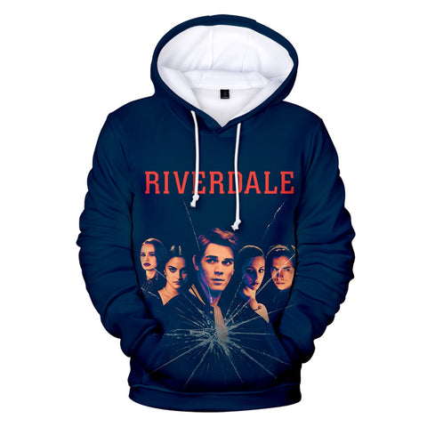 Sweat Riverdale imprimé Cassure
