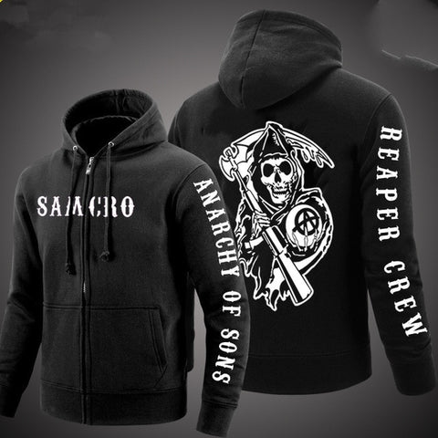 Sweat à capuche Sons of Anarchy Noir - 1 / 4XL / sons of anarchy, China