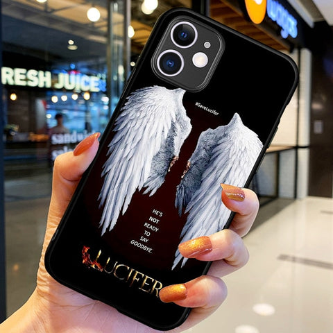 Coque Lucifer iPhone Ailes d'ange - iPhone X / H6113