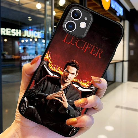 Coque Lucifer iPhone Le Diable - iPhone X / H6116