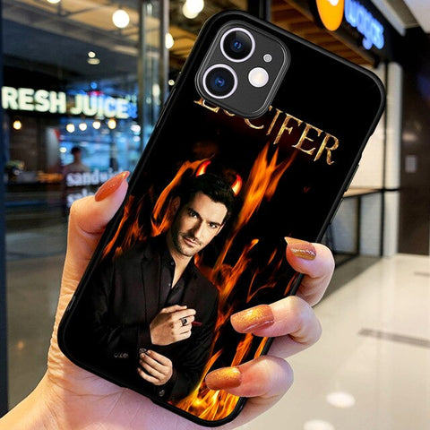Coque Lucifer iPhone Feu - iPhone X