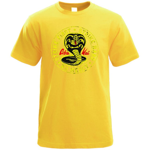 T-Shirt Cobra Kai Jaune - XL