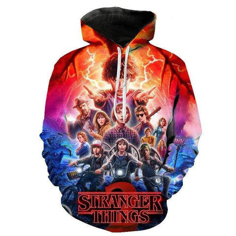 Sweat Stranger Things Imprimé Saison 3 - XS