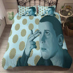 Housse de Couette Stranger Things Bleue - Color-2 / EU King(230x220cm)