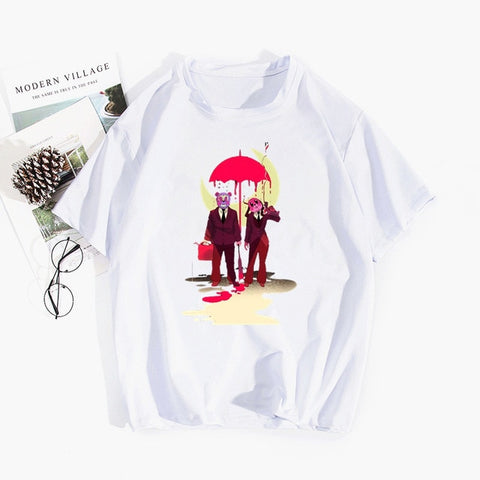 T-shirt The Umbrella Academy Ours et Lapin