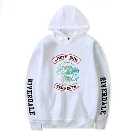 Sweat Riverdale Blanc Logo South Side Serpents - 4XL
