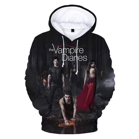Sweat Vampire Diaries Forêt sombre