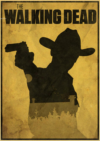Poster The Walking Dead Rick Grimes - 30x21 cm