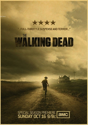 Poster The Walking Dead Affiche Rick