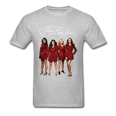 T-Shirt Pretty Little Liars Gris clair - S