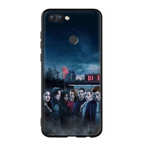 Coque Huawei Riverdale Affiche Personnages - P8 Lite 2017