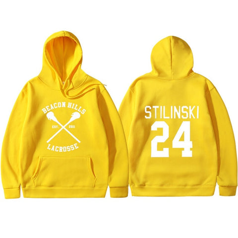 Sweat Teen Wolf Jaune - S