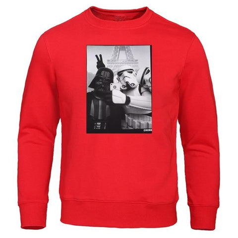 Pull Star Wars Humour - Homme - Rouge / S / China
