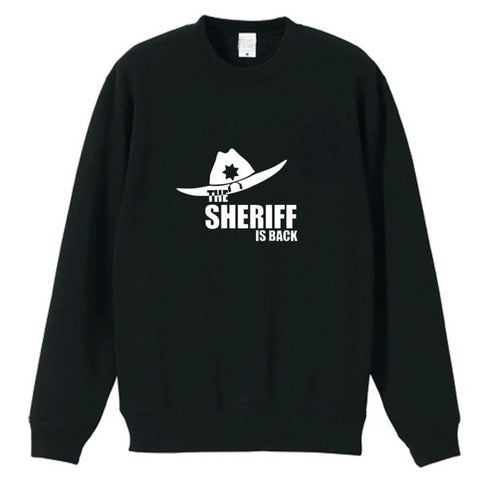 Pull The Walking Dead Sheriff - Noir / S