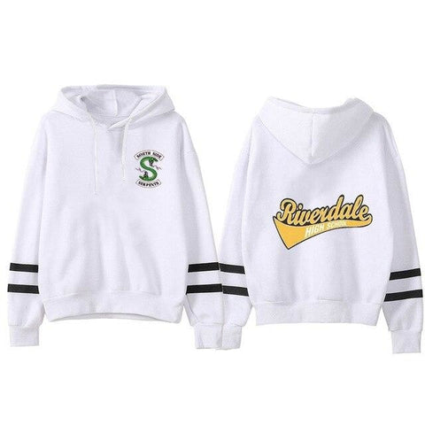 Sweat à capuche Riverdale Logo (5 coloris) - Femme - Blanc / XXL