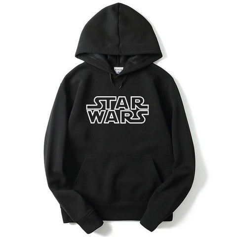 Sweat Star Wars Logo - Homme - Noir / M
