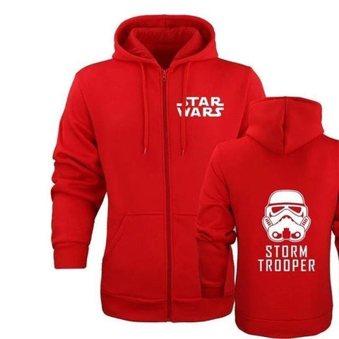 Sweat Star Wars Stormtrooper - Homme - Rouge / M