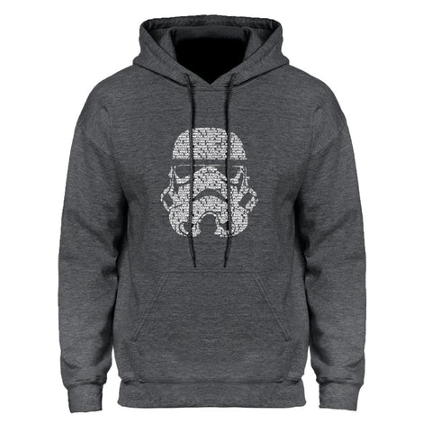 Sweat Star Wars Tête de Stormtrooper - Homme