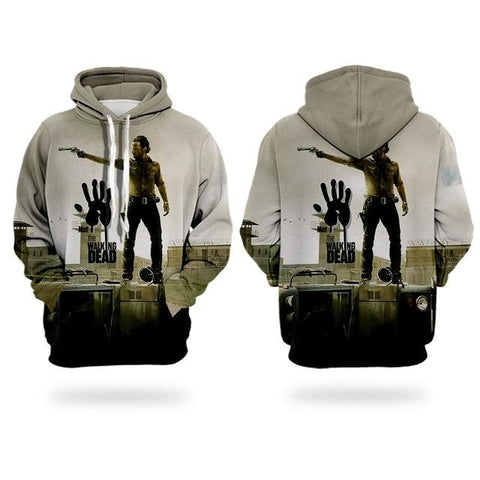 Sweat The Walking Dead Main de Zombie - Homme - S