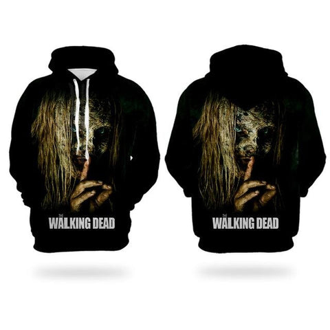 Sweat The Walking Dead Pas un bruit - Homme - 6XL