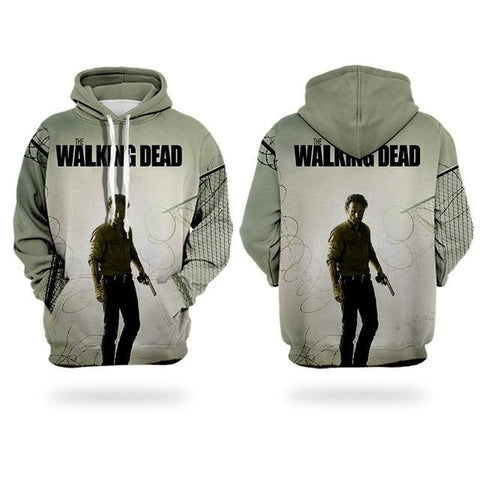 Sweat The Walking Dead Rick Grimes Pistolet - Homme - L