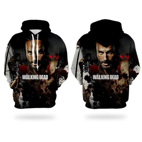 Sweat The Walking Dead Rick - Homme - S