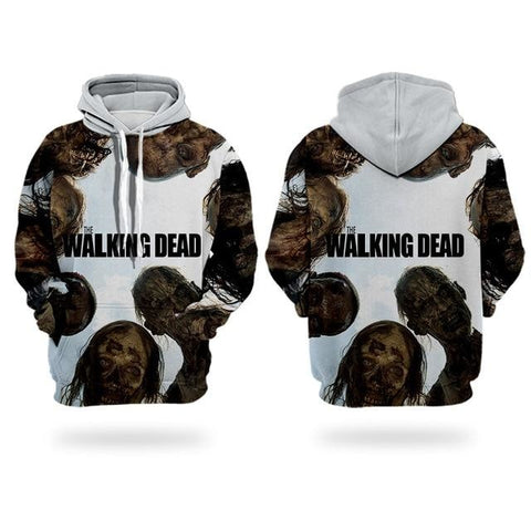 Sweat The Walking Dead Zombies - Homme - XXL