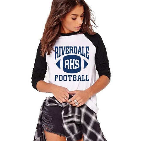 T-Shirt manche longue Riverdale Football - Femme - S