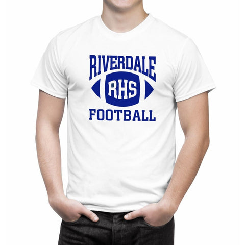 T-Shirt Riverdale RHS Football Blanc - Homme