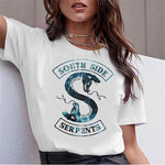 T-Shirt Riverdale South Side Serpents - Femme - 1 / L