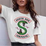 T-Shirt Riverdale South Side Serpents - Femme - 2 / L