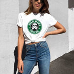 T-Shirt Star Wars Coffee - Femme