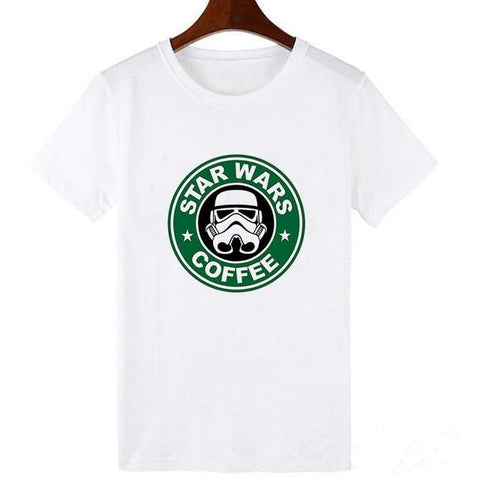 T-Shirt Star Wars Coffee - Femme - XXXL