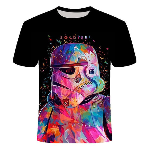 T-Shirt Star Wars fashion - Unisexe