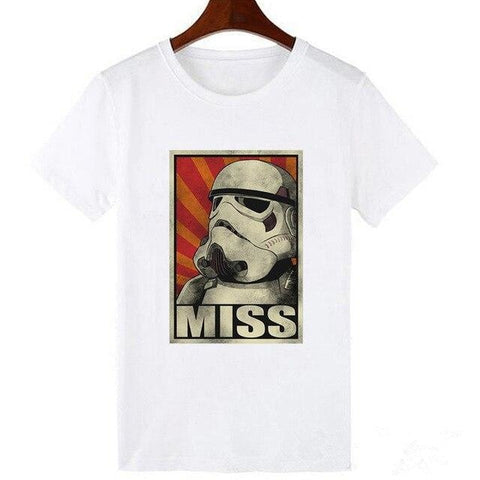 T-Shirt Star Wars Stormtrooper Miss - Femme - XXXL