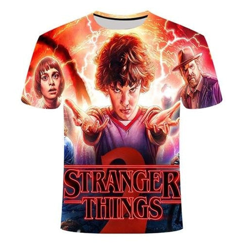 T-Shirt Stranger Things 2 - Unisexe