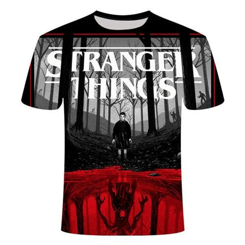 T-Shirt Stranger Things Elfe ou Démon - Unisexe