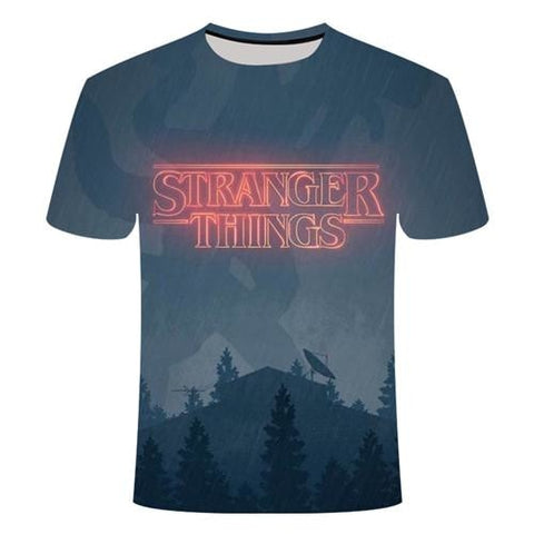 T-Shirt Stranger Things Flagelleur mental - Unisexe