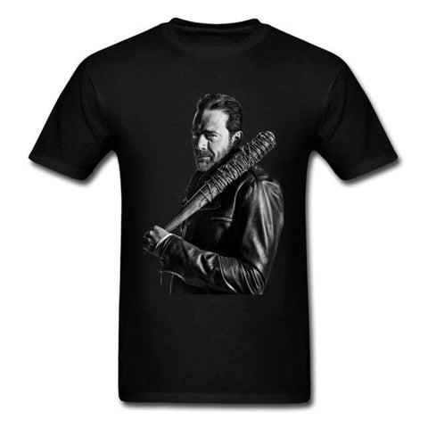 T-Shirt The Walking Dead Negan Noir - Homme - S