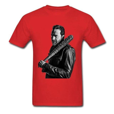 T-Shirt The Walking Dead Negan Rouge - Homme - S