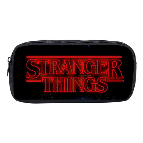 Trousse Stranger Things Logo rouge