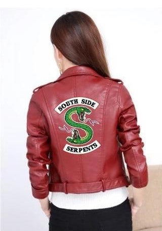 Veste Riverdale Serpent Rouge - Cheryl