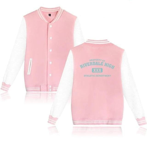 Veste Teddy Riverdale Rose - Unisexe