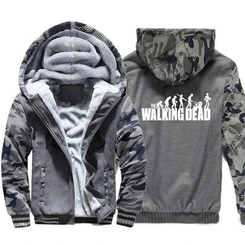 Veste The Walking Dead Grise Evolution - 5XL