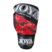 Joya 10oz Kick Boxing Gloves Synthetic Leather Red Camo Image 3
